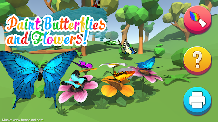 AR Butterflies and Flowers Free APK screenshot thumbnail 1