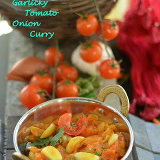 Garlicky Tomato Onion Curry