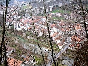 Photo: Vue sur Fribourg et la Sarine