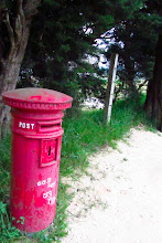 Photo: English post box in Nuwara Eliya aka Little England.
