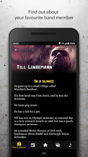 Rammstein Unofficial Fan App ss2