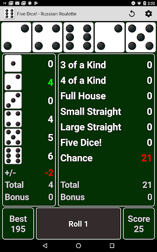 Five Dice! Free android2mod screenshots 9