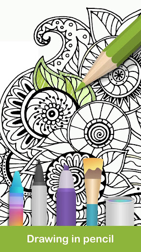 100+ Mandala coloring pages  screenshots 2