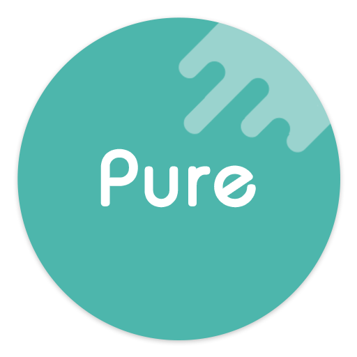 Pure - Icon Pack ( Flat Design ) app for Android