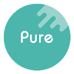 Pure - Icon Pack ( Flat Design ) 7.01 Light Snow (Patched)