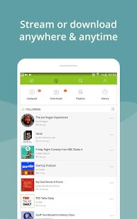 Podcast App & Podcast Player - Podbean Screenshot