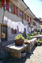 Photo: Waschtag am Brunnen