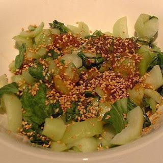 Diabetic Bok Choy Stir-Fry