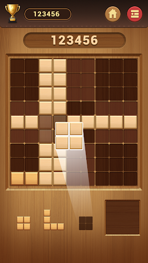 Wood Block Sudoku Game -Classic Free Brain Puzzle apklade screenshots 2
