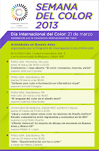 Photo: International Color Day 2013 in Buenos Aires: schedule of activities