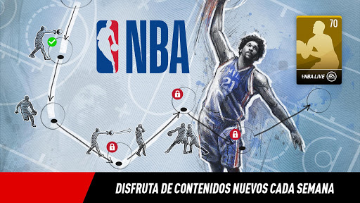 NBA LIVE Mobile Baloncesto  trampa 3