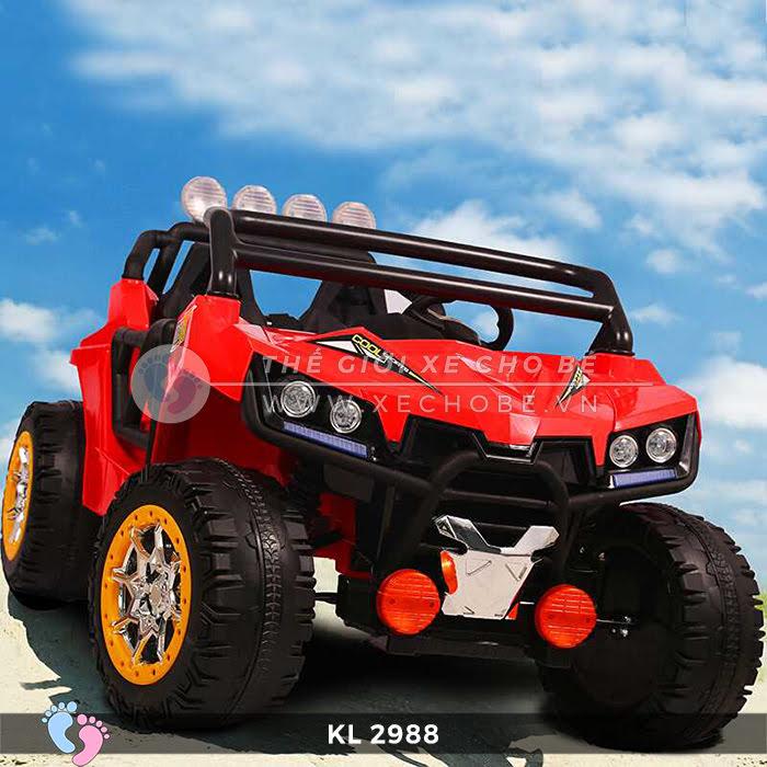 Xe ô tô điện địa hình trẻ em KL-2988 2