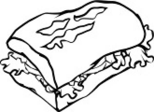 Beef Stroganoff Sandwich