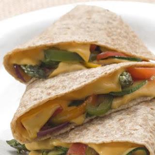 Kickin' Vegan Quesadillas.