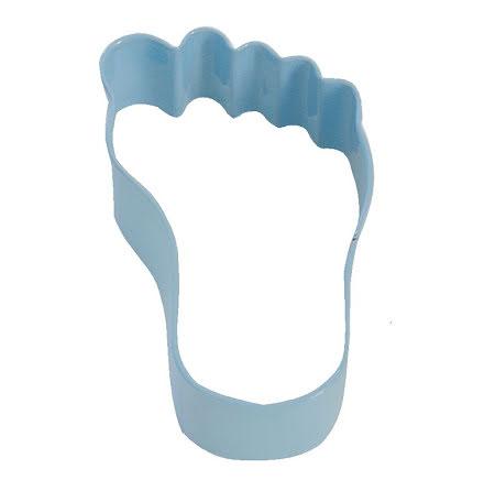 Kakform - Bebisfot blå