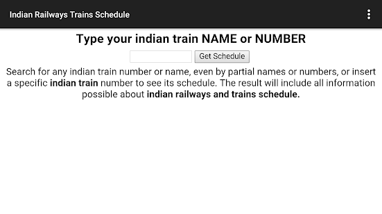 Indian Railways - screenshot thumbnail
