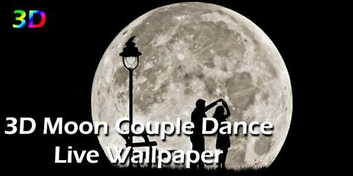 3D Moon Couple Dance LWP