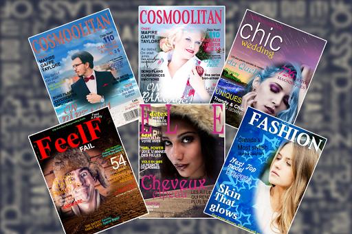Fashion Magazine Covers Frames