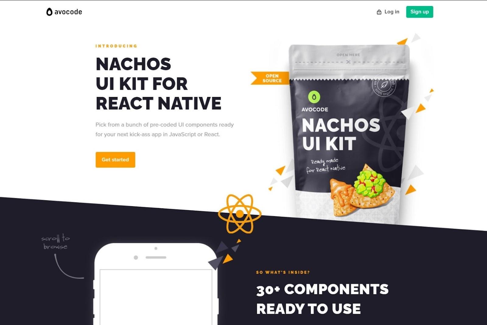 React Native Nachos UI Kit React Native UI Libraries