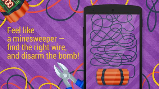 Defuse the bomb: Cut wire
