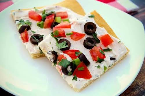 """Joey's Summer Pizza""""The buttery flavor of the crescent rolls makes for a..."""