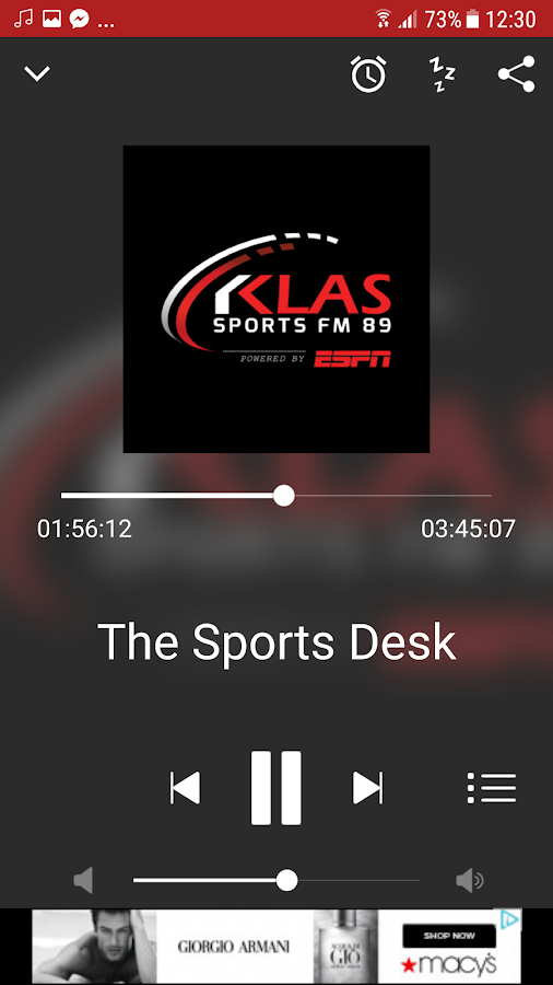 KLAS Sports Radio- screenshot