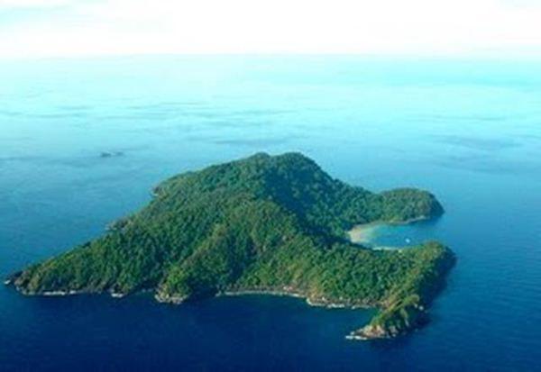 Pulau Tenggol Dungun.