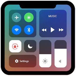 Control Center iOS 11 - Phone X Control Panel APK Cracked Download
