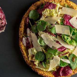 Gluten-Free Pizza With a Cauliflower Crust.