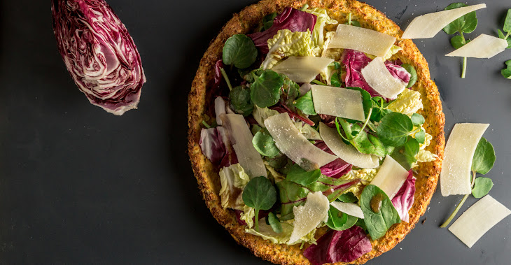 Gluten-Free Pizza with a Cauliflower Crust Recipe