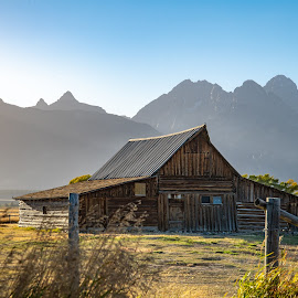 Barn by Elizabeth Kalik - Uncategorized All Uncategorized ( rustic, mountains, fall, barn, tetons, landscap )