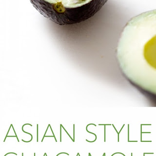 Summer Side Dish | Asian Style Guacamole