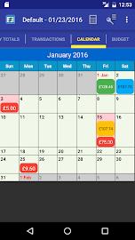 MoBill Budget and Reminder Screenshot 2