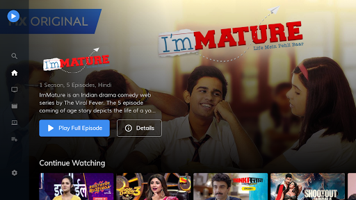 MX Player TV screenshot 1