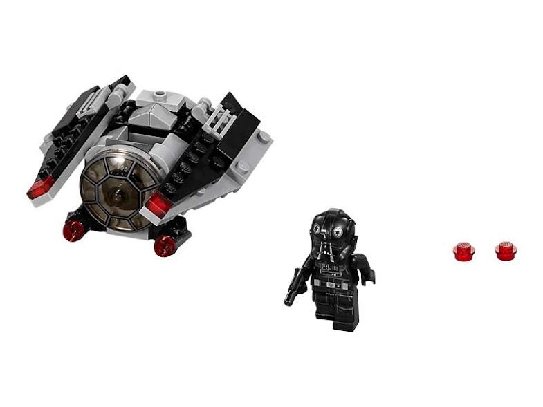 Contenido de Lego® 75161 Microfighter Atacante TIE