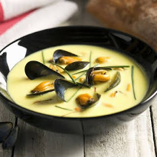 Seafood and Herb Bisque.