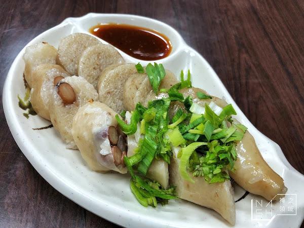 捷運雙連美食|巷仔內大腸煎 淡雅好吃!豬大腸灌的糯米腸