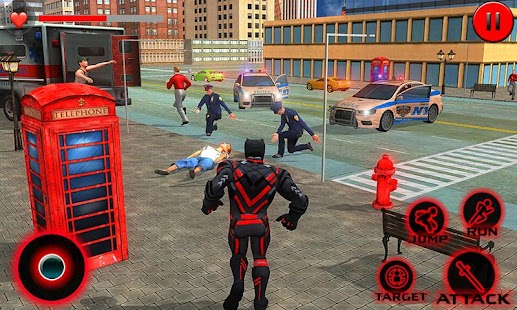 Grand Superhero Flying Panther City Rescue Mission - náhled