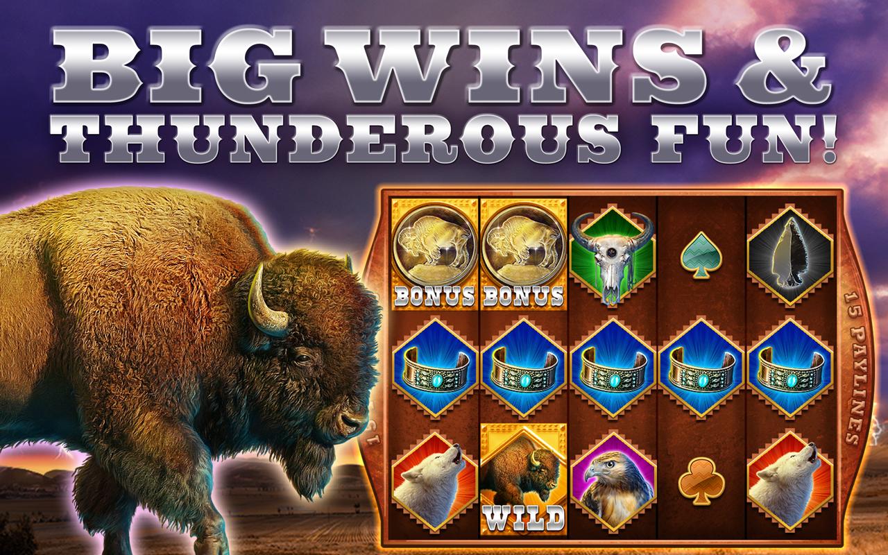 thundering buffalo slot app