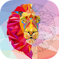 Color by Number - Poly Art APK