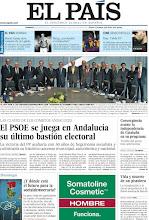 Photo: El PSOE se juega en Andalucía su último bastión electoral; Convergencia asume la independencia de Cataluña en su programa; ¿Y dónde está el futuro para la socialdemocracia?, entre los temas de nuestra portada de este domingo, 25 de marzo http://srv00.epimg.net/pdf/elpais/1aPagina/2012/03/ep-20120325.pdf