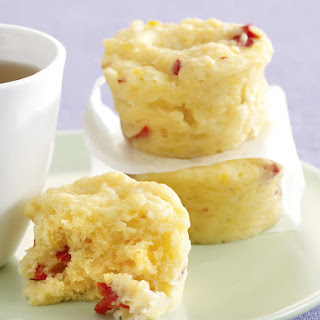 Corn and Pepper Muffins.
