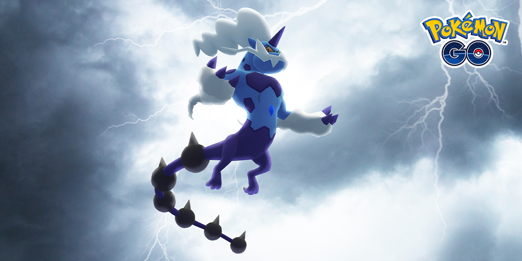 Tynamo, Mega Manectric, and Therian Forme Thundurus come roaring in for the first-ever Electric-type-themed event: Charge Up!
