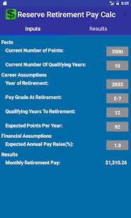 US Military Reserve Retirement - náhled