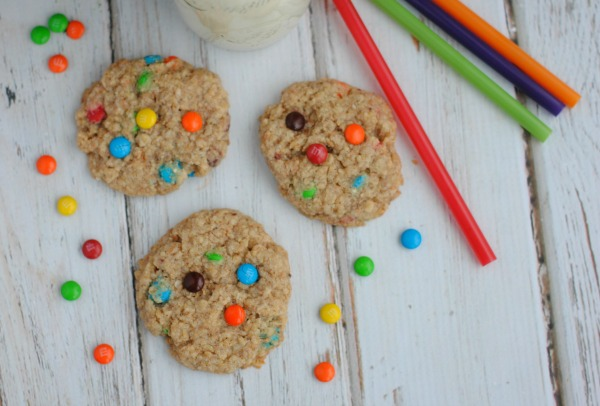 Mini M&M Quinoa Cookies Recipe