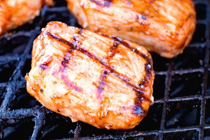 Grilled BBQ Pork Chops Recipe