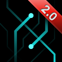 Tron Traces - Live Wallpaper icon