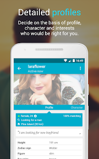 Free Dating & Flirt Chat ♥ Choice of Love- screenshot thumbnail