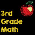 3rd Grade Math Flash Cards icon