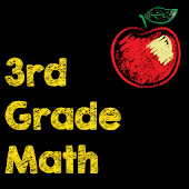 3rd Grade Math Flash Cards